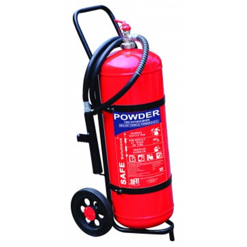DCP (Trolley) Type Fire Extinguisher (Capacity 25Kg)