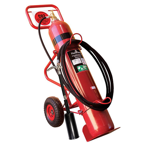 Carbon-Di-Oxide Mounted Fire Extinguisher