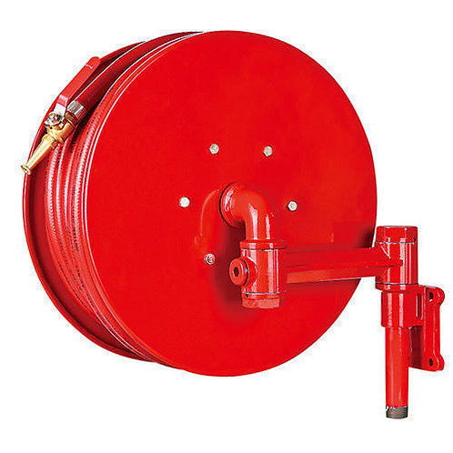 FIRST AID HOSE REEL (Type-A) Wall mount - 180°, Long - 30mtr.