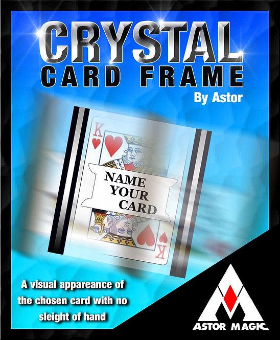 CRYSTAL CARD FRAME