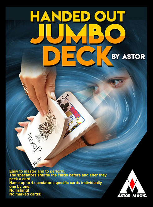 HANDED OUT JUMBO DECK