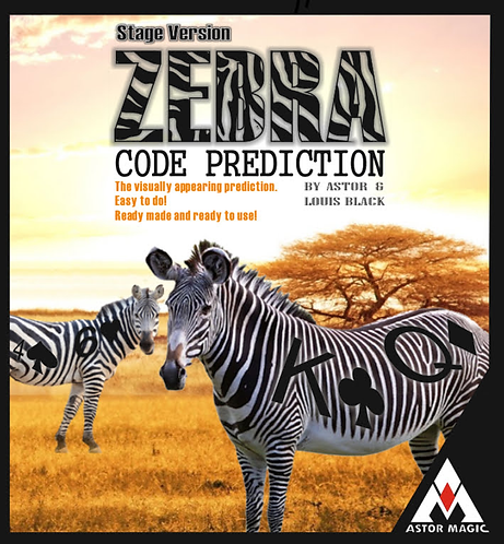 ZEBRA CODE PREDICTION STAGE VERSION