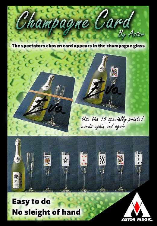 CHAMPAGNE CARDS