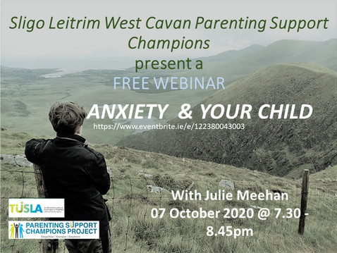ANXIETY AND YOUR CHILD