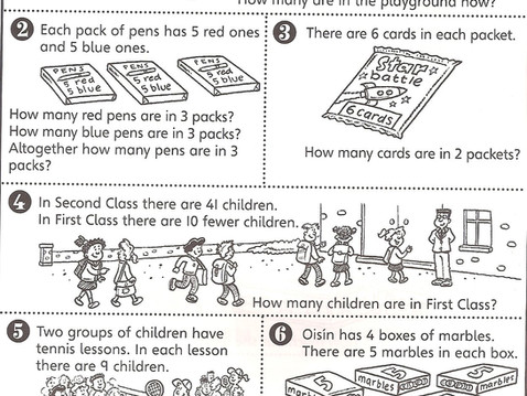 Second Class Problem Solving 15th-19th June (Ms Naughton)