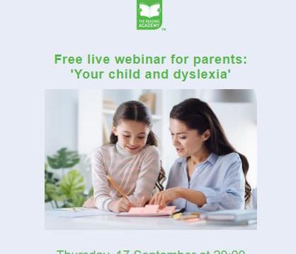 Dyslexia Workshop Webinar