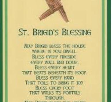 How to Make a St. Brigid's Cross - Feast Of St. Brigid 1st Feb