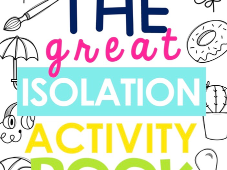 The Great Isolation Activity Book