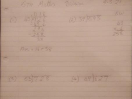 Fifth Class Mr Liddy Maths 10.03.2021