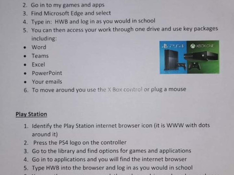 Access to Platforms using Consoles