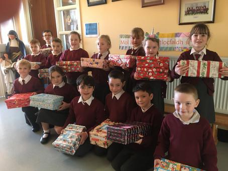 Team Hope Christmas Shoebox Appeal
