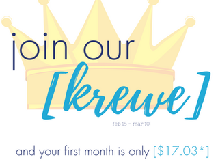 Join our [KREWE]