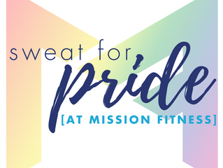 Sweat for PRIDE