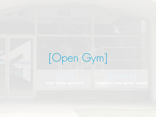 Open Gym & Workout of the Week