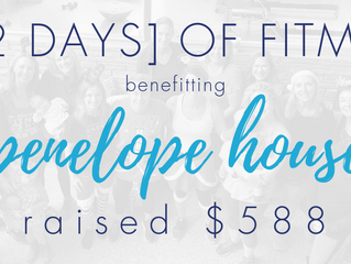 [12 DAYS] of FITMAS for PENELOPE HOUSE