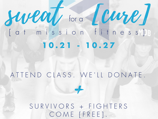 SWEAT FOR A CURE