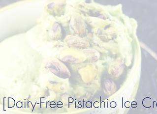 Dairy-Free Pistachio Ice Cream