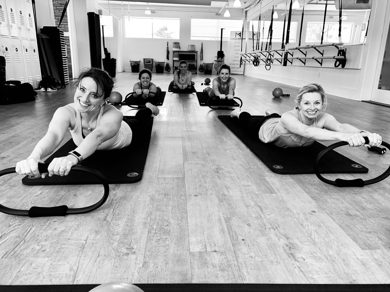 With this [ring] we do Pilates...