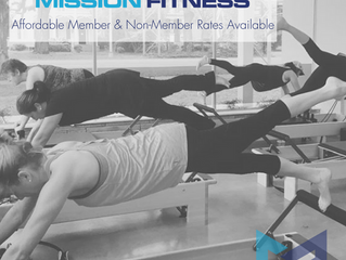 Semi-Private Pilates Reformer Sessions @ Mission Fitness