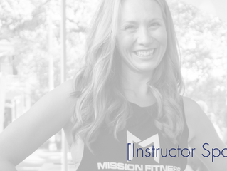 Instructor Spotlight [Jessica Sweeney]