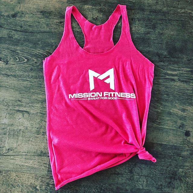 We have a limited supply of pink Mission Fitness tanks left. Purchase yours and support the cause!
