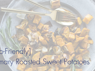 Rosemary Roasted Sweet Potatoes