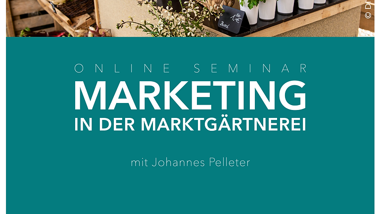 Marketing in der Marktgärtnerei
