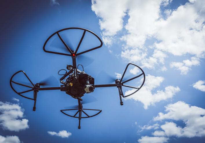 Industrial-grade drones
