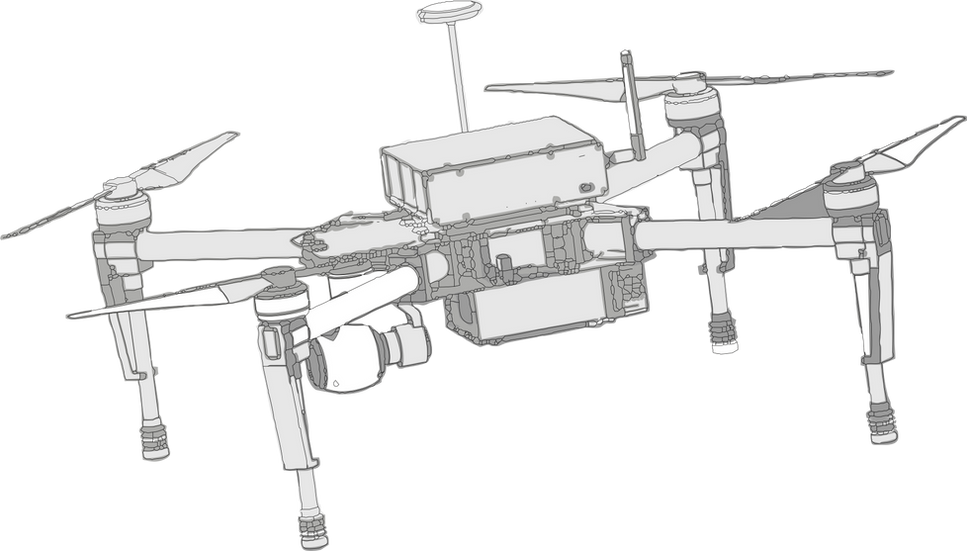 Sniffer-4D and DJI M100