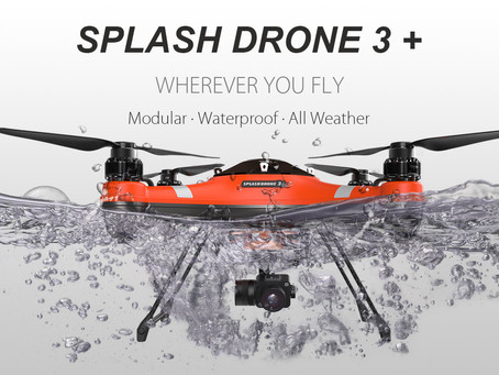 SWELLPRO'S NEW SPLASH DRONE 3+ The most reliable and versatile waterproof drone yet!