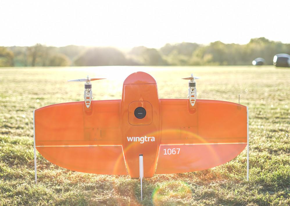 Wingtra Fixed Wing UAV