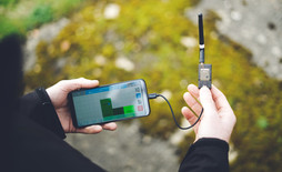 Real-time air pollutant data