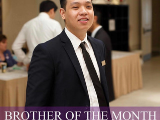 Brother of the Month (February 2019)
