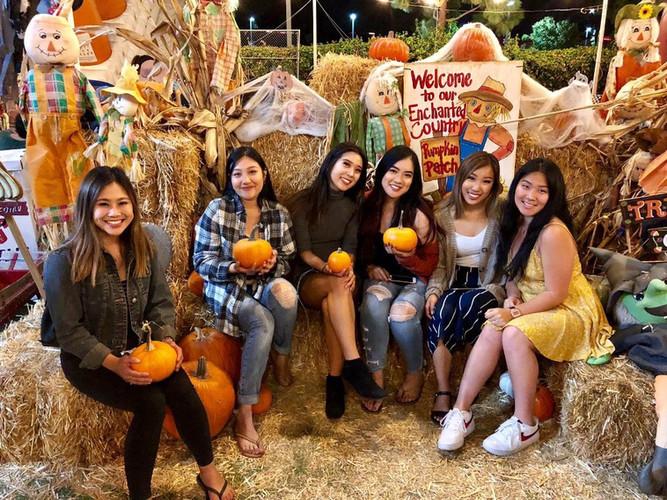 Beta Tau's Pumpkin Patch (Fall 2018)