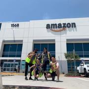 2021 Amazon Area Manager Interns of Lambda Sigma