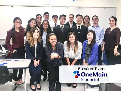 OneMain Financial Speaker Event
