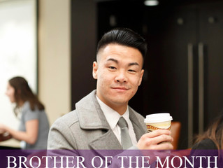 Brother of the Month (March 2019)