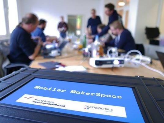 Mobiler MakerSpace: Ein MakerSpace für die Schule