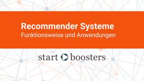 Recommender Systeme in der Praxis: Funktionsweise und Anwendungen