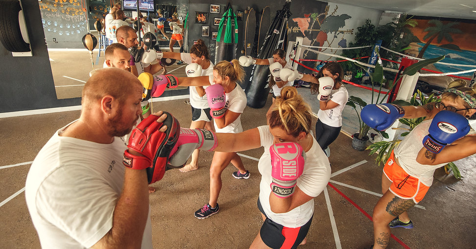 Women's Fitness Boxing Outer Banks