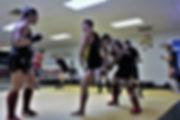 Teaching Muay Thai kick Canada.JPG