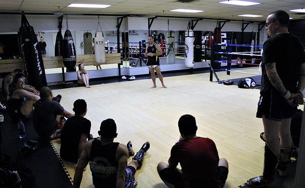 Muay Thai Canada seminar.JPG