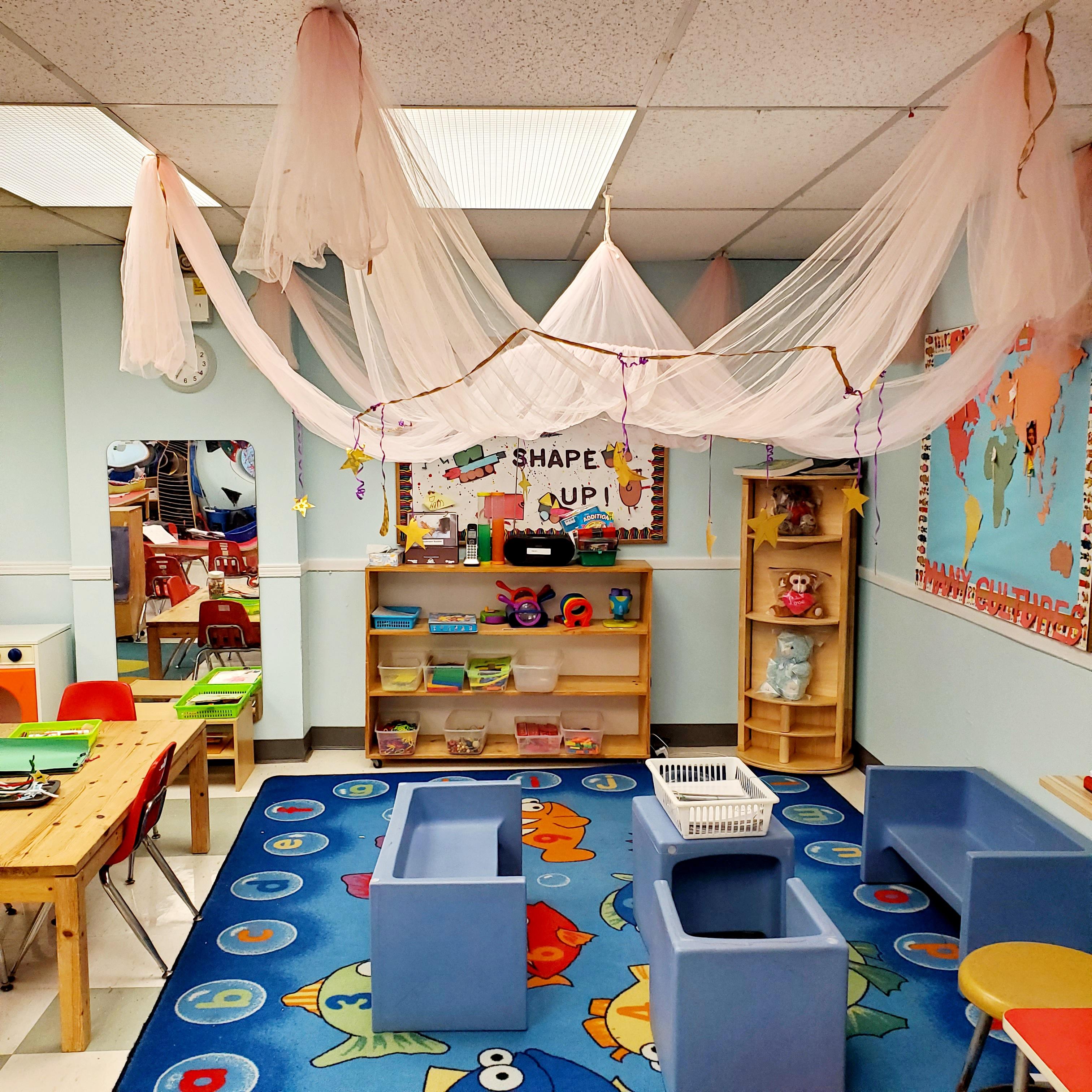 Senior Preschool Room Dramatic Area