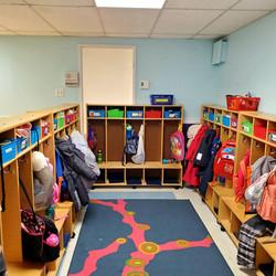 Preschool Cubby Area