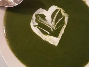 Soupe de cresson au thym vitaminée