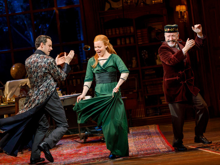 Review: In August, Musicals Rule Broadway