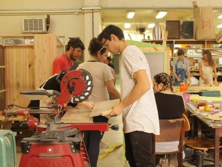 Terça Maker - Construção dos Armários Coletivos no IFSC- CampusFlorianópolis
