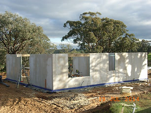 The Smart SIPs walls up we are ready to install the roof system pop in the windows and the building is locked up in double quick. Smart SIPs equals Smart Building system