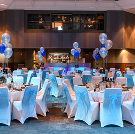 Corporate event photography at a black tie dinner