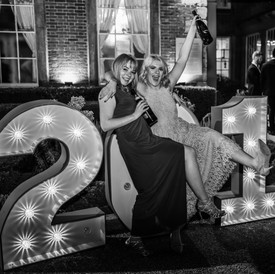 Corporate event photography at a graduation ball